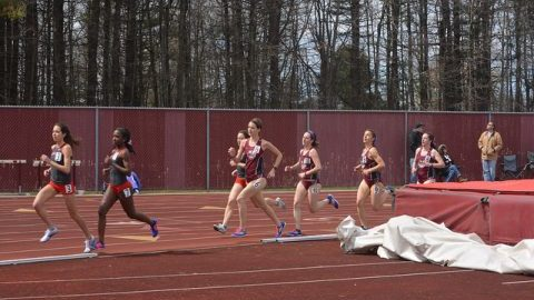 Men's and women's track and field open seasons at Dartmouth Relays