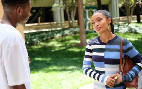 Does Zoey Johnson of 'Grown-ish' change her style around different men?