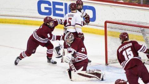 Slow start dooms UMass hockey Tuesday night