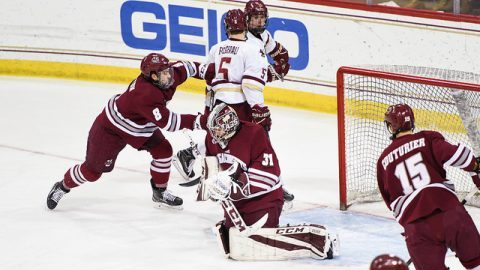 Slow start dooms UMass hockey Tuesday night