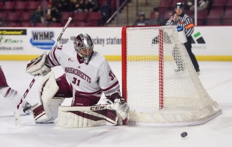 Goaltending questions entering critical juncture for UMass hockey