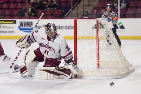 Goaltending questions entering critical juncture for UMass hockey
