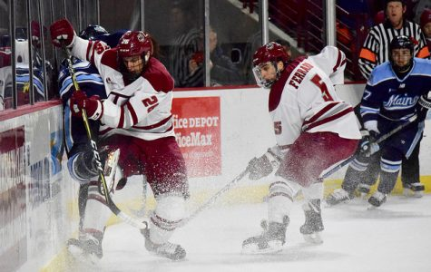 UMass hockey's efforts shaded by inability to finish against Maine