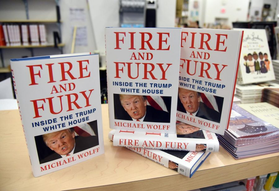 Michael Wolff's capture of Trump is fiery and furious