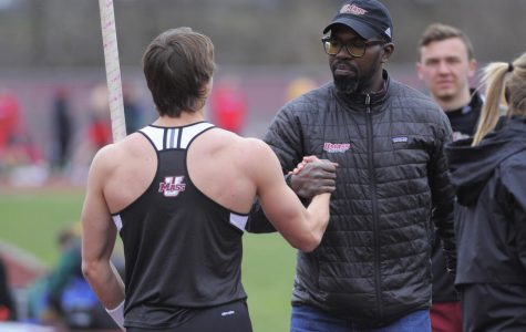 David Jackson looks to the future with UMass men's track and field