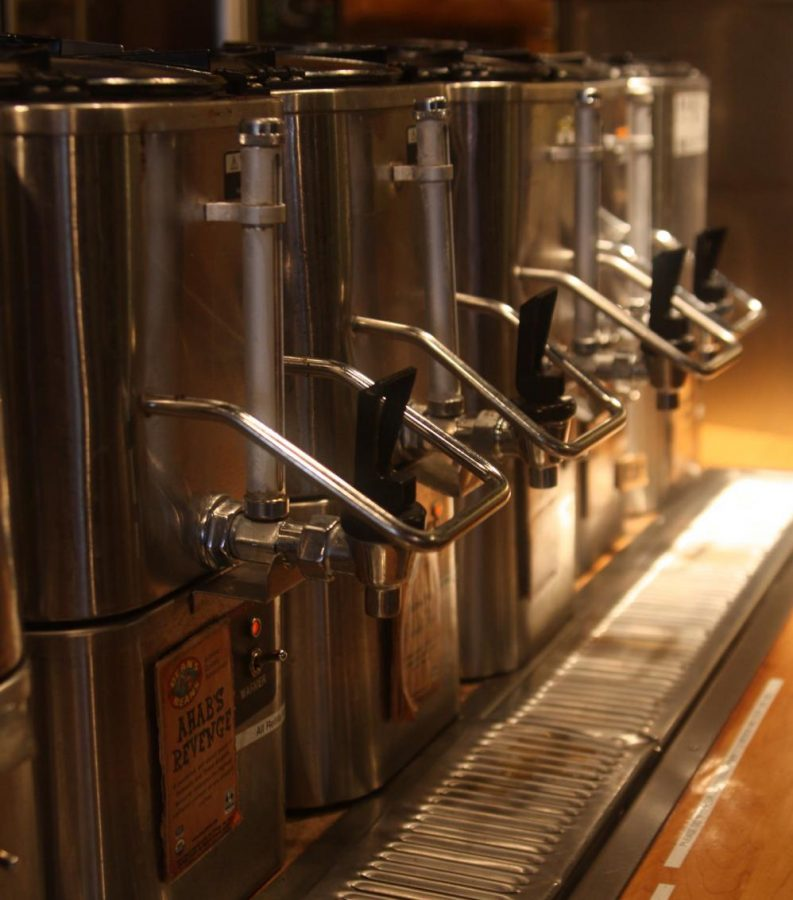 A lineup of Amherst's coffee scene