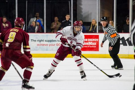 Final two games looming for UMass hockey with paramount playoff implications