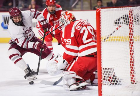 Boston University hands UMass hockey its fifth straight loss with 3-2 win