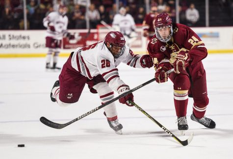 Scoring first proved to be key yet again for UMass in 3-0 victory past UMass Lowell
