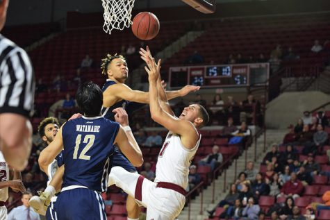 UMass men's basketball pulls away from Eastern Michigan