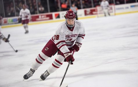 UMass hockey looks to boost late-season run against Boston College on Thursday