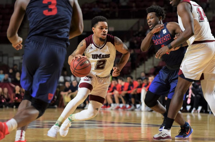Pipkins miracle 3-pointer helps end UMass' five game losing skid