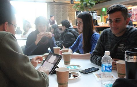 International Coffee Hour provides a space for international students to socialize and find community