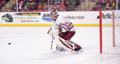 Minutemen fall to Friars Saturday, skate to draw Friday at home