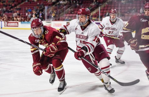 Third period major power play lifts Boston College past UMass