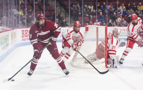 UMass ties Boston University 3-3 Friday