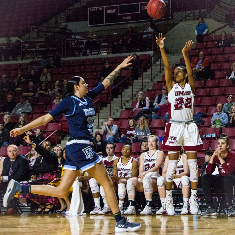 UMass+women%E2%80%99s+hoops+heating+up+heading+into+Atlantic+10+tournament