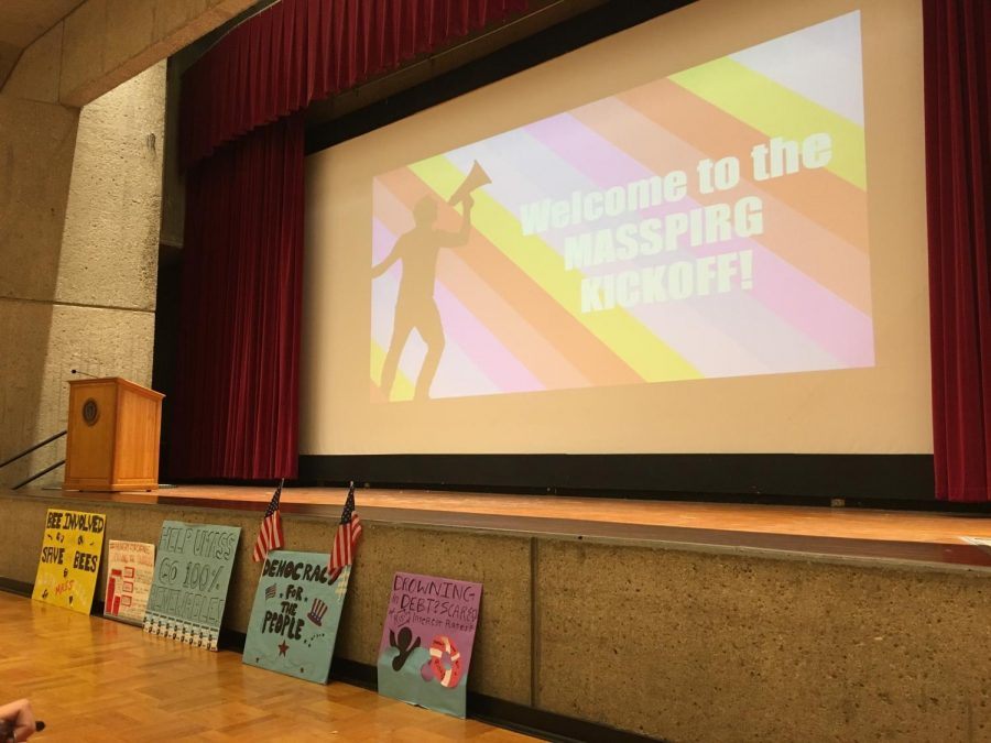 MassPIRG features five campaigns at spring kickoff event