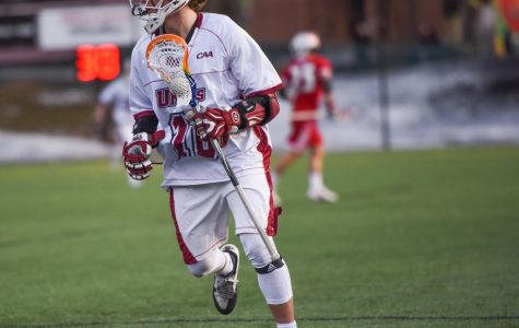UMass men's lacrosse picks up first win of season