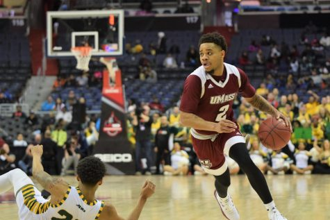 UMass withstands game filled with unpredictable outcomes