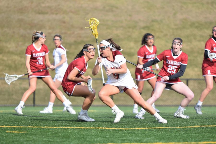 Second+half+comeback+over+Harvard+gives+UMass+women%E2%80%99s+lacrosse+momentum+heading+into+conference+play