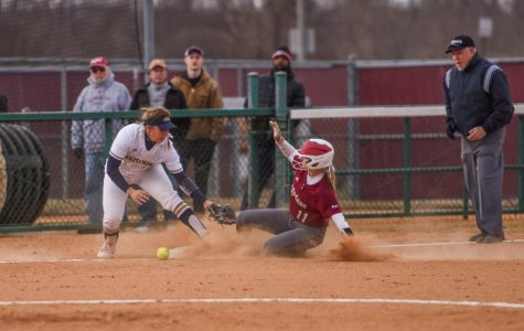 Offensive explosion leads to two wins for UMass softball