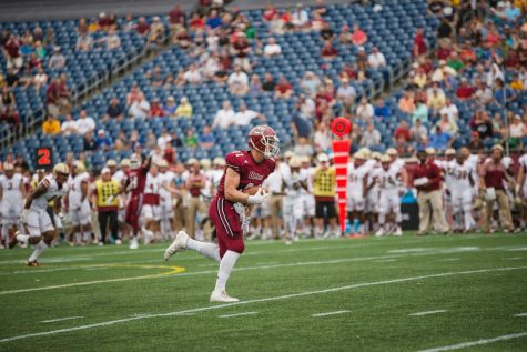 Four UMass football players suspended following arrest