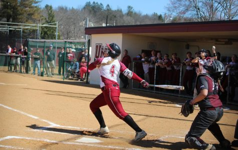 UMass softball looks for three more wins at GW this weekend
