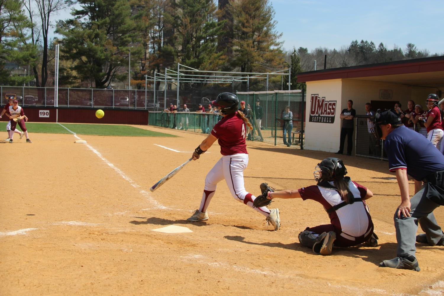 Softball Takes Series Opener; Saturday Doubleheader Scheduled