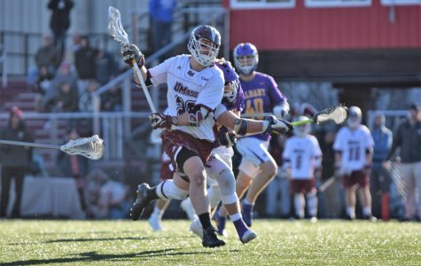 UMass men's lacrosse wins second straight, topping UMass Lowell 13-6