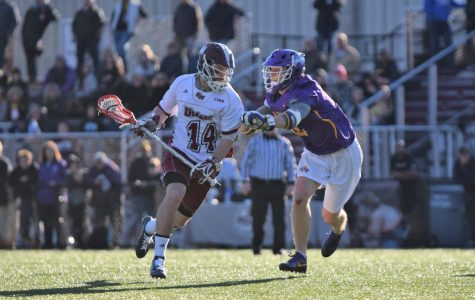 UMass men's lacrosse tops Brown for fourth straight win heading into CAA play