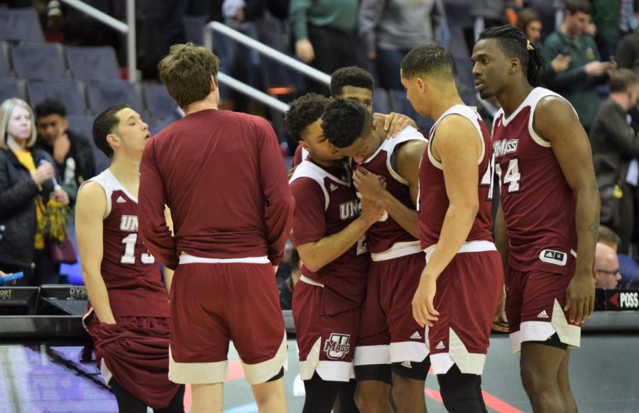 UMass men's basketball's ride ends in the second round of the Atlantic 10 Tournament