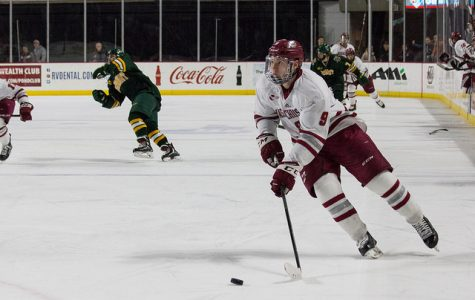 John Leonard returns from injury, serves key role for UMass in 3-2 overtime win