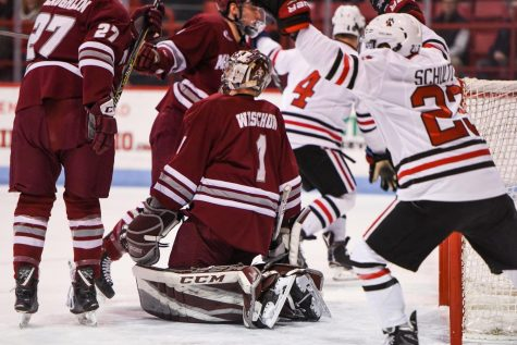 Makar, Leonard score but UMass can only muster 2-2 tie with Vermont