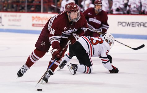 UMass hockey coach Greg Carvel believes both Cale Makar and Mario Ferraro will be back for 2018-19 season
