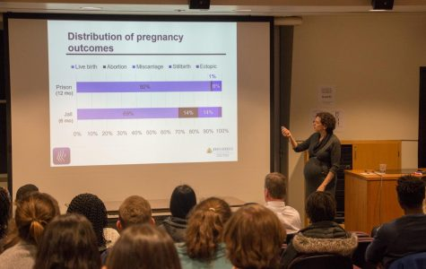 Issue of pregnant incarcerated women discussed at Amherst College lecture