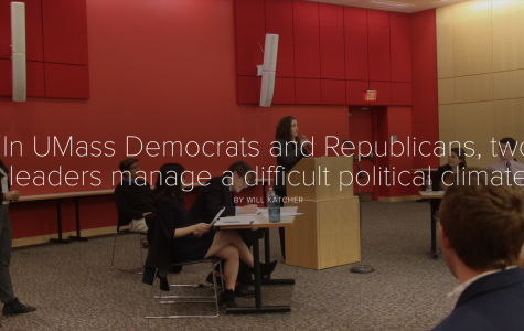 In UMass Democrats and Republicans, two leaders manage a difficult political climate