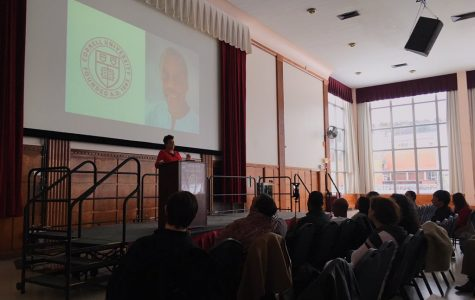 Community organizer, journalist and activist Rosa Clemente speaks at UMass for International Women's Day