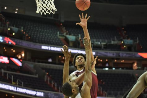 UMass men's basketball knocks off Nebraska