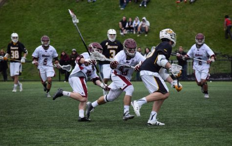 UMass men's lacrosse readies for Saturday's battle with Towson