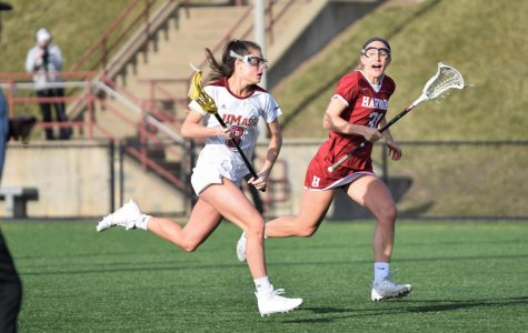 UMass women's lacrosse blows out Davidson