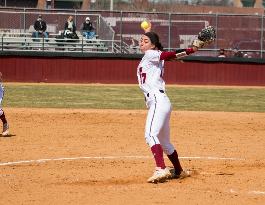 UMass softball beat Saint Louis twice Saturday