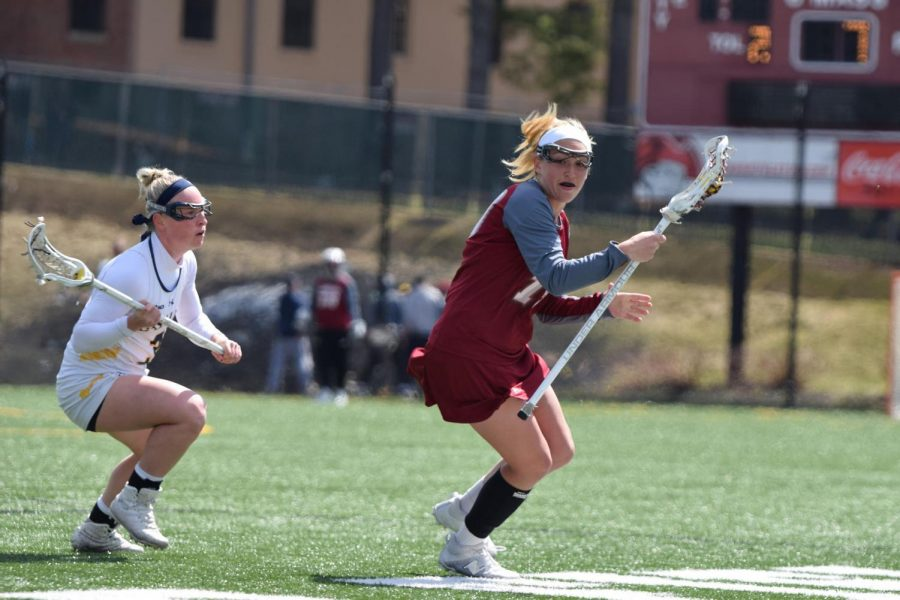 UMass women's lacrosse overpowers Mason, routs George Washington over the weekend