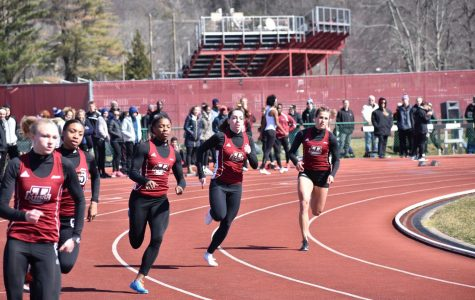 UMass track and field competes at Larry Ellis, Holy Cross over the weekend