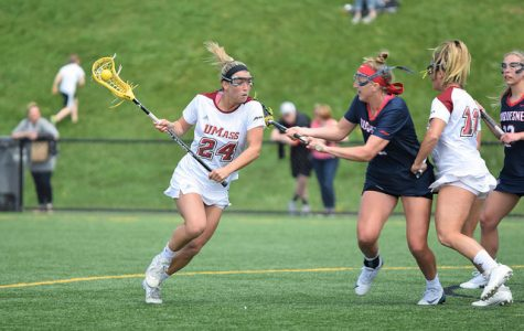 Push by seniors and underclassmen help UMass women's lacrosse end their season on top
