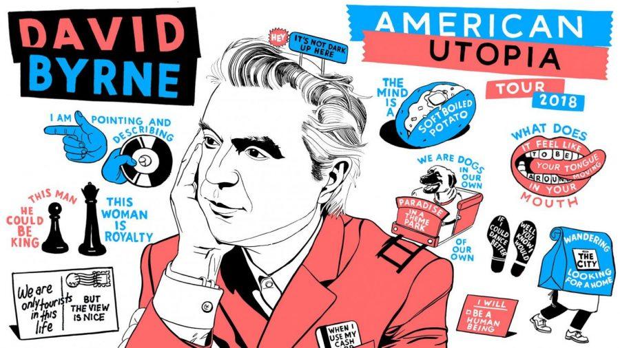 David Byrne's 'American Utopia' showcases his unique artistry