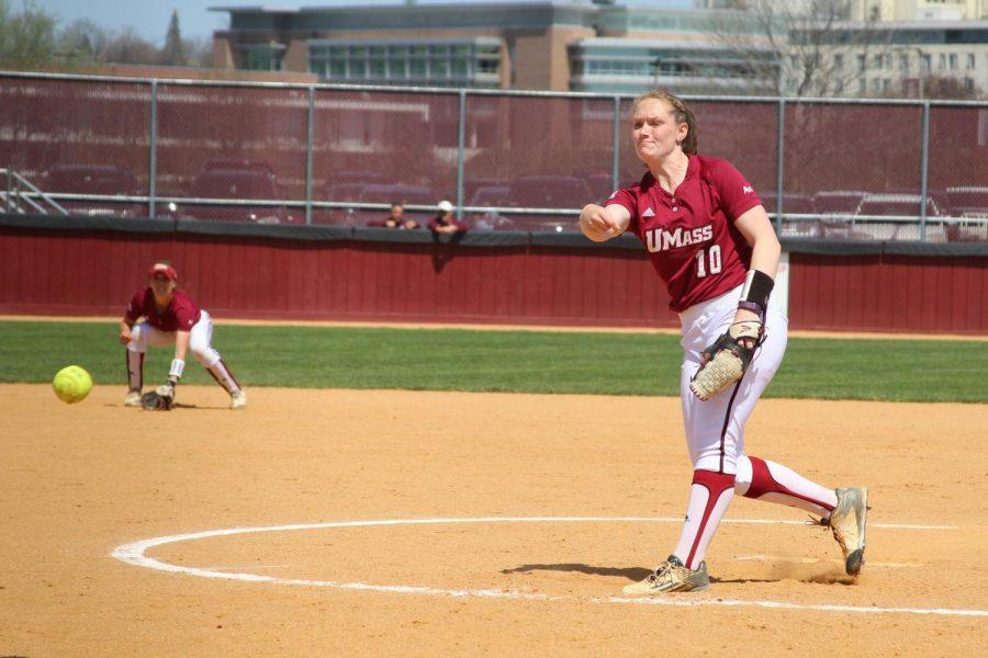 Meg Colleran's bounce-back driving UMass softball hot conference start