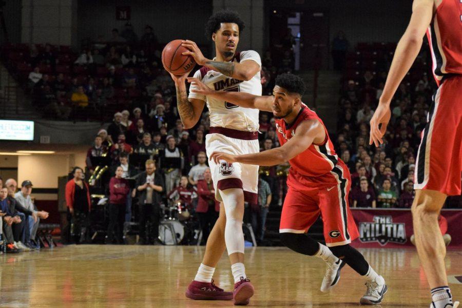 UMass men's basketball gains Sy Chatman, but loses Chris Baldwin