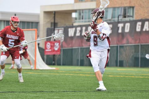 Brett Anton stands tall against UMass men's lacrosse, Minutemen stumble into playoffs