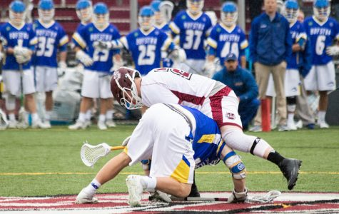UMass men's lacrosse explodes offensively, defeats Hofstra 14-6 in season finale